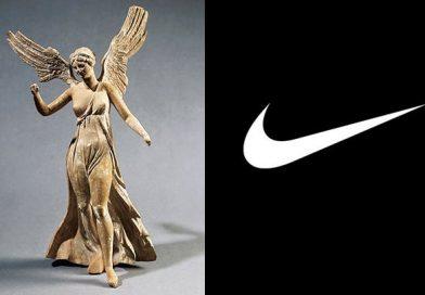 """Sabias que """"NIKE"""" tomo el nombre y logo de la diosa griega NIKE"""