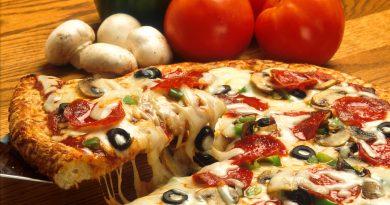 De donde viene la pizza?