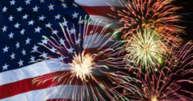 """El 4 de Julio """"La Independencia de los Estados Unidos"""""""