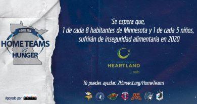 Picosa Radio se une a la iniciativa 'Home Teams vs. Hunger' con los equipos deportivos de Minnesota.