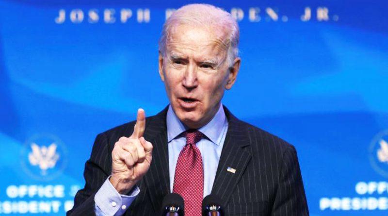 El presidente electo Joe Biden presenta un plan económico por $1.9 billones.